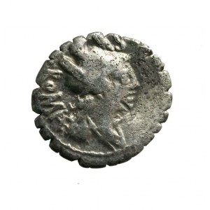RZYM-REPUBLIKA - C.Poblicius (80 p.n.e.)