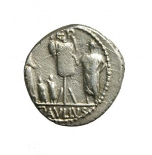 RZYM-REPUBLIKA - L. AEMILIUS LEPIDUS PAULLUS (62 p.n.e.)