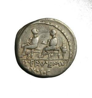 RZYM-REPUBLIKA - L. CALPURNIUS PISO CAESONIUS,Q.S.CAEPIO (100 p.n.e.)