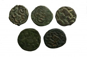 zestaw monet tatarskich 5 szt AE