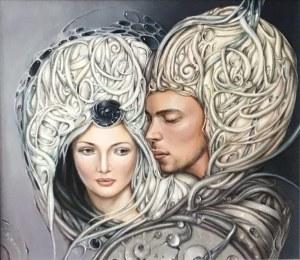 Anastazja Markowicz, PRZEBACZENIE 71 x 66 cm