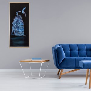 Mariusz Zdybał, FARTUSZKI KASIMIRY, 143 x 65 cm