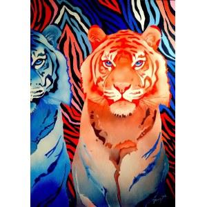 Anna Stanisz (ur. 1972), Fabryka tygrysów, 2021