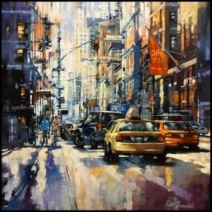 Piotr Zawadzki (ur. 1971), Metropolis. Broadway 401, New York, 2021