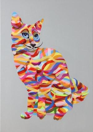 Paweł Dąbrowski (ur. 1974), Kot jak Dali, 2020