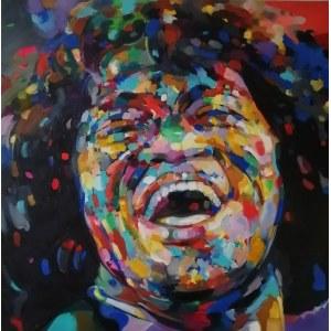 Monika Łakomska (ur. 1968), James Brown Free, 2020
