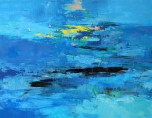 Kinga Wnuk-Moskalska (ur. 1975), Niebieska głębia, 2014