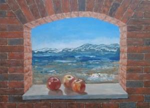 Jan Bembenista (ur. 1962), Jabłka, morze, góry, 2020