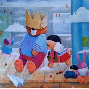 Mirella Stern (ur. 1971), Jesteś królem, z cyklu: Terapia sztuką, 2021