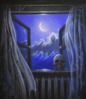 Konstantyn Płotnikow (ur. 1991), The Moon View From the Window, 2020