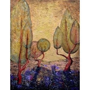 Robert Piasecki (ur. 1959), One Warm Autumn Morn, 2020,