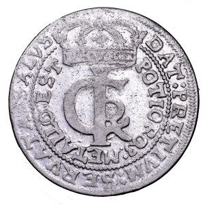 Jan II Kazimierz, tymf 1663 AT - bardzo ładny