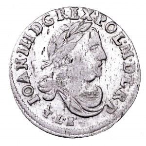 Jan III Sobieski, szóstak 1683, Bydgoszcz - bardzo ładny