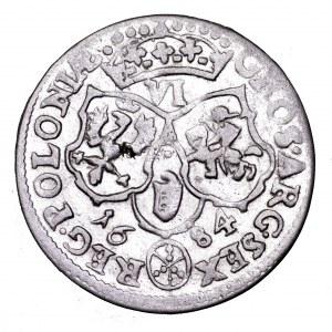 Jan III Sobieski, szóstak 1684, Bydgoszcz - piękny