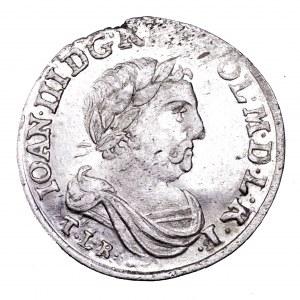 Jan III Sobieski, szóstak 1682, Bydgoszcz - piękny