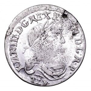 Jan III Sobieski, szóstak 1681, Bydgoszcz - bardzo ładny