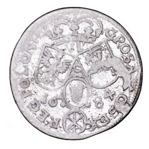 Jan III Sobieski, szóstak 1684, Kraków - litera C