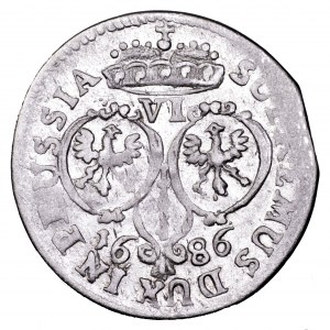 Prusy, Fryderyk Wilhelm, szóstak 1686 BA - piękny