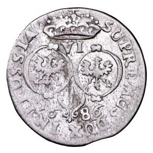 Prusy, Fryderyk Wilhelm, szóstak 1686 BA