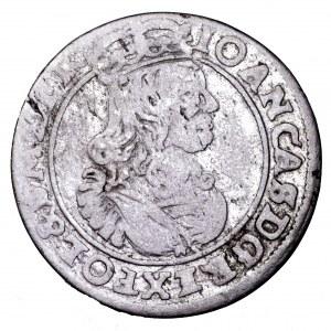 Jan II Kazimierz, szóstak 1663 AT