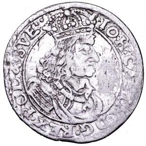 Jan II Kazimierz, szóstak 1660 TT - bardzo ładny