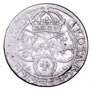 Jan II Kazimierz, szóstak 1659 TLB - rzadszy