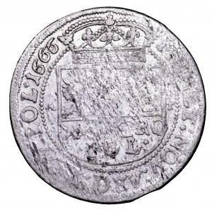 Jan II Kazimierz, tymf 1666 AT - bardzo ładny