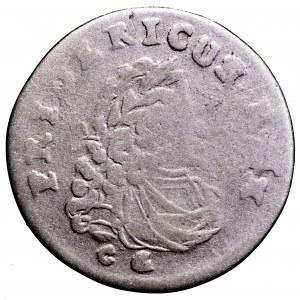 Prusy, Fryderyk I, 3 grosze 1706 CG - rzadki nominał