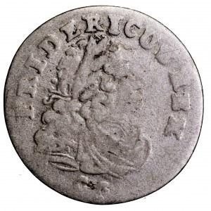 Prusy, Fryderyk I, 3 grosze 1704 CG - rzadki nominał