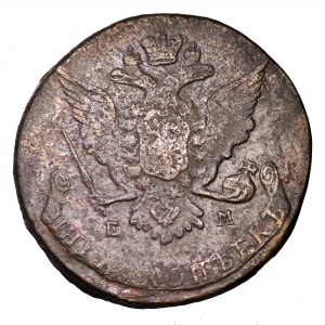 Rosja, Katarzyna II, 5 kopiejek 1768 EM
