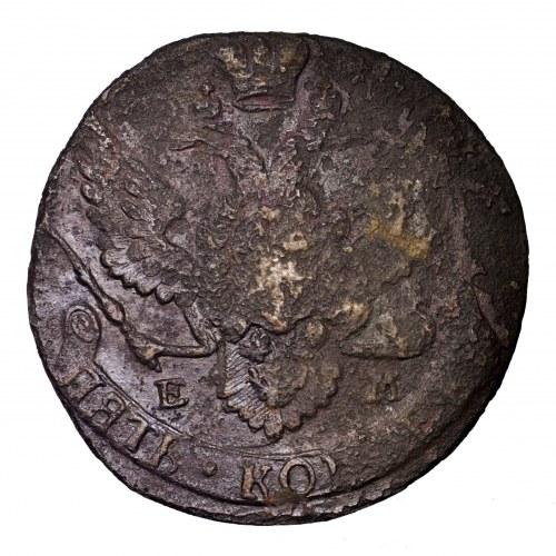Rosja, Katarzyna II, 5 kopiejek 1788 EM