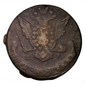 Rosja, Katarzyna II, 5 kopiejek 1769 EM