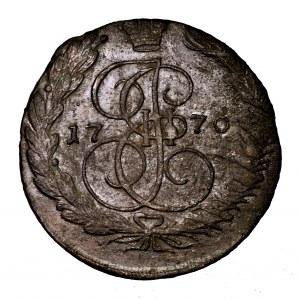 Rosja, Katarzyna II, 5 kopiejek 1770 EM