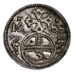Śląsk, greszel 1688, Opole - piękny