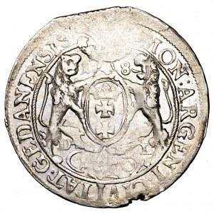 Jan II Kazimierz, ort 1660 DL, Gdańsk - bardzo ładny