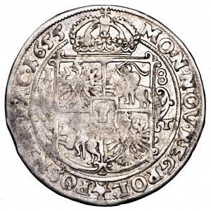 Jan II Kazimierz, ort 1655 AT, Poznań - POSNAN FAC