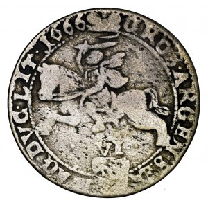 Jan II Kazimierz, szóstak 1666 TLB, Wilno - rzadsze