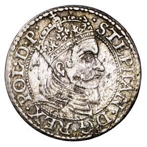 Stefan Batory, grosz 1579, Gdańsk - bardzo ładny