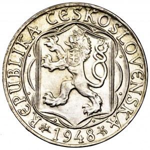 Czechosłowacja, 100 koron 1948, 600 lat Uniwersytetu Karola
