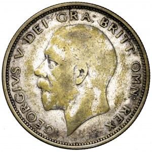 Wielka Brytania, Jerzy V, 1/2 korony 1927
