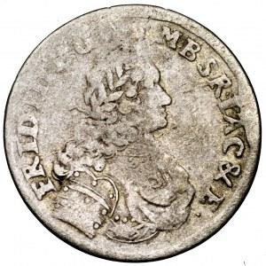Prusy, Fryderyk III, 3 grosze 1696 SD