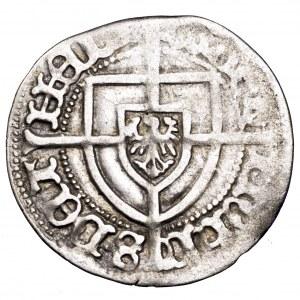 Zakon Krzyżacki, Jan von Tiefen, grosz - rzadki