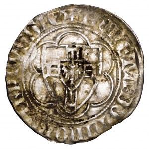 Zakon Krzyżacki, Winrych von Kniprode, półskojec 1351-1382 - rzadki i bardzo ładny
