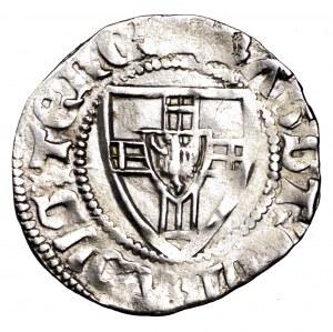 Zakon Krzyżacki, Konrad von Jungingen, szeląg 1393-1407 - rzadki