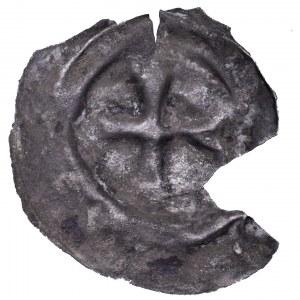 Zakon Krzyżacki, brakteat krzyż rozdzielony, XII w.