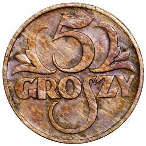 II Rzeczpospolita, 5 groszy 1935