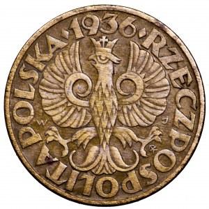 II Rzeczpospolita, 5 groszy 1936