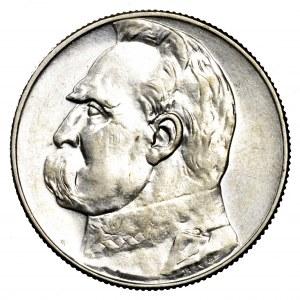 II Rzeczpospolita, 5 złotych 1936, Piłsudski