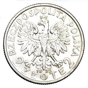 II Rzeczpospolita, 2 złote 1932, Polonia