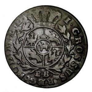 Stanisław Poniatowski, grosz 1789 EB